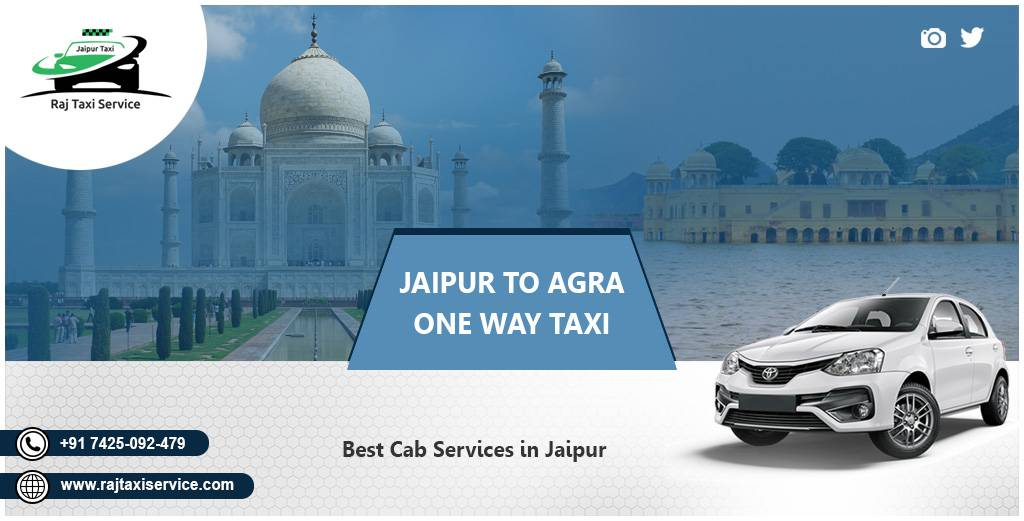 Jaipur To Agra One Way Taxi
