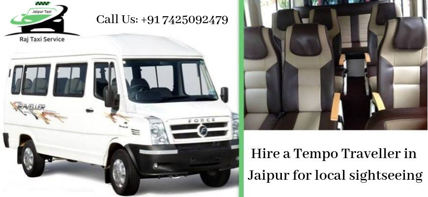 Hire a tempo traveller in jaipur for local sightseeing