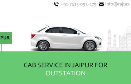 Cab service in Jaipur for outstation